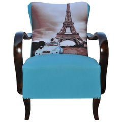 Art Deco Paris Armchair, circa 1920s