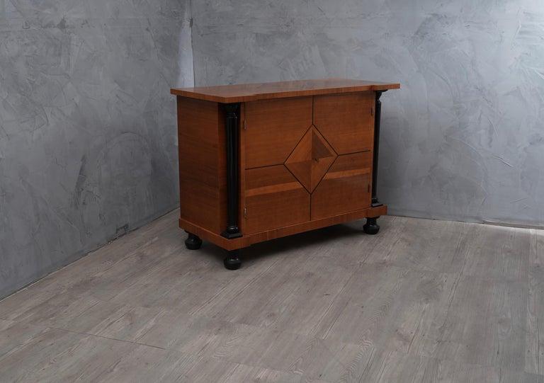 Art Deco Pearwood Austrian Sideboard, 1930 For Sale 1