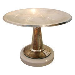 Art Deco Pedestal Dish French Vintage