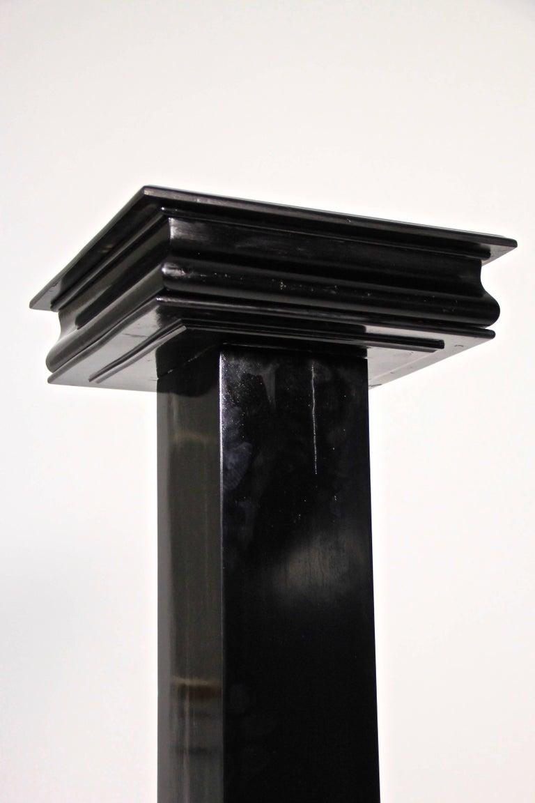Art Deco Pedestal Ebonized, Austria, circa 1920 For Sale 1