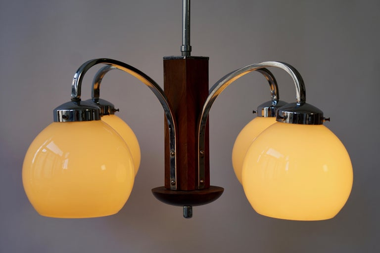 Art Deco Pendant Chandelier For Sale 6