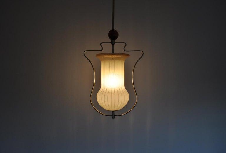 Art Deco Pendant Light, Scandinavian, 1930s For Sale 4