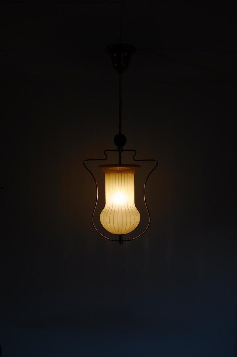 Art Deco Pendant Light, Scandinavian, 1930s For Sale 5