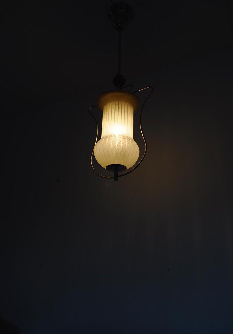 Art Deco Pendant Light, Scandinavian, 1930s For Sale 7