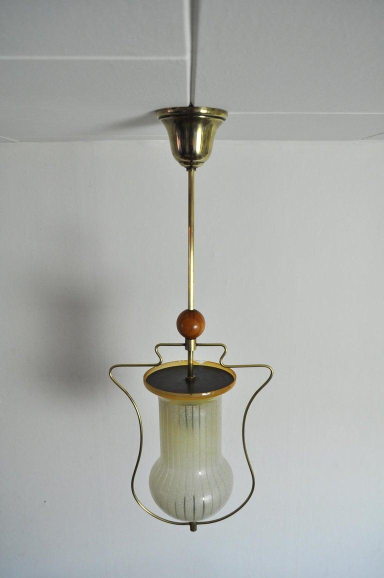 20th Century Art Deco Pendant Light, Scandinavian, 1930s For Sale