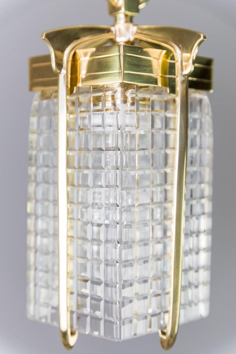 Lacquered Art Deco Pendant, Vienna, 1920s For Sale