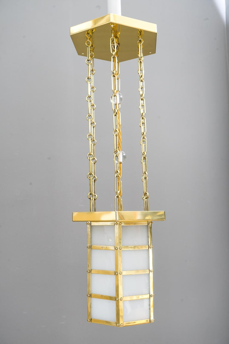 Early 20th Century Art Deco Pendant, Vienna, circa 1920s For Sale