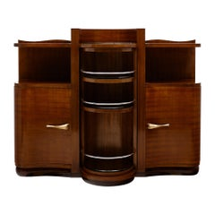Art Deco Period Bar Cabinet