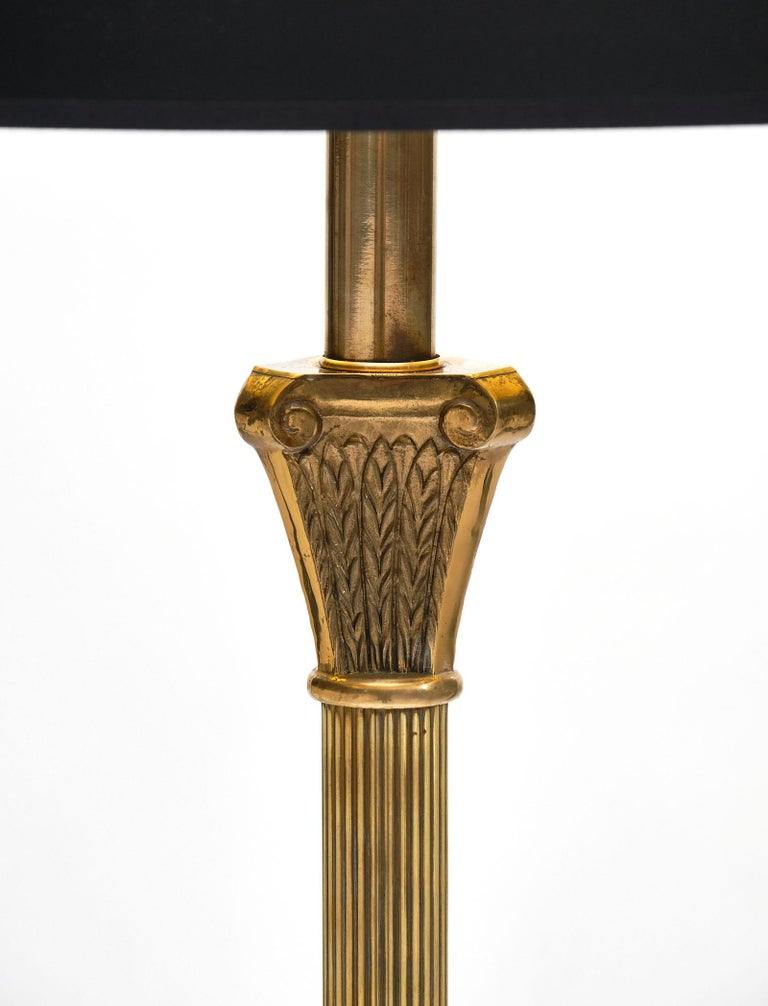 Mid-20th Century Art Deco Period French Floor Lamp For Sale