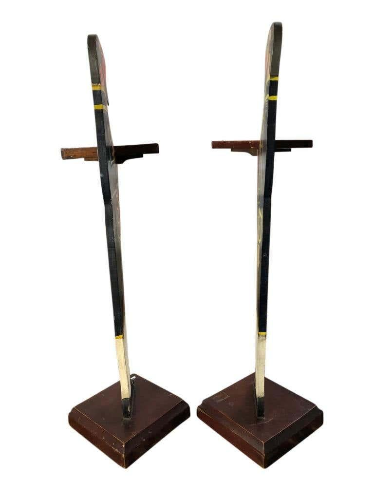 20th Century Art Deco Period, Matched Pair of Dumb Waiter Stands For Sale