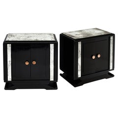 Art Deco Period Vintage Side Tables