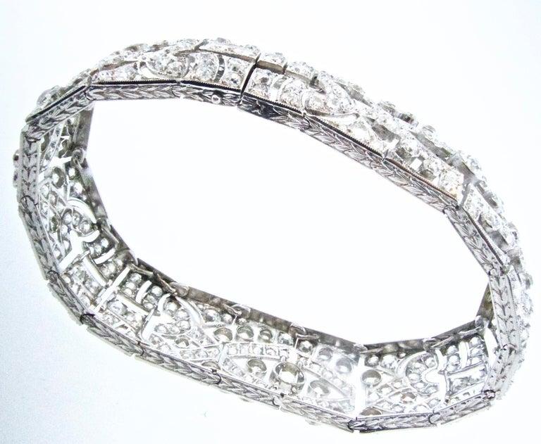 Art Deco Platin und Diamant-Armband, ca. 1930 10