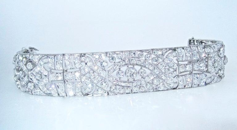 Art Deco Platin und Diamant-Armband, ca. 1930 3