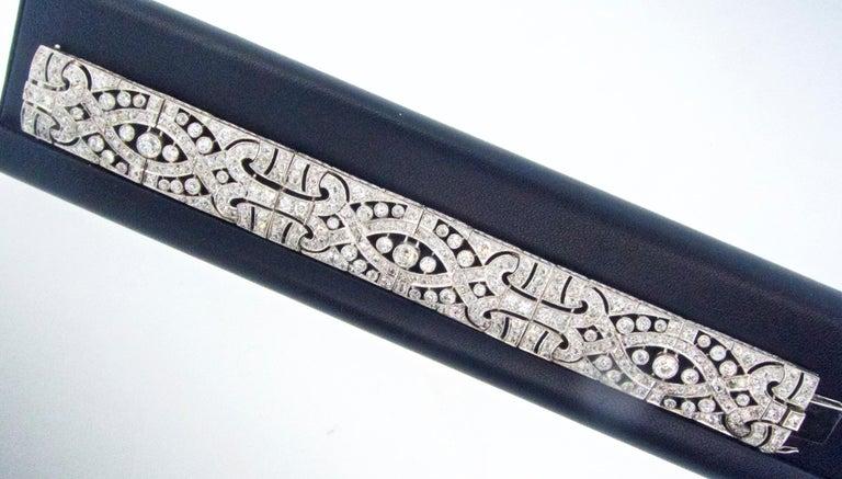 Art Deco Platin und Diamant-Armband, ca. 1930 8