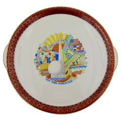 Art Deco Platter from the 1939-40 New York World's Fair