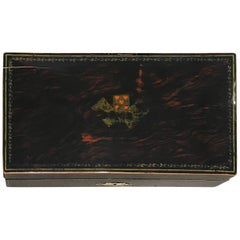 Art Deco Playing Cards Casket Box, Rosewood, France/Paris, circa 1920