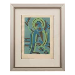 Art Deco Pochoir by Serge Gladky