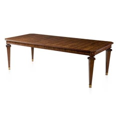 Art Deco Polished Extension Dining Table