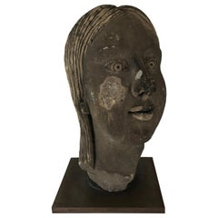 Art Deco Portrait Bust