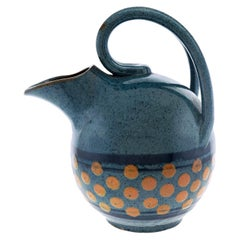 Art Deco Pottery Pitcher by Paul Jacquet