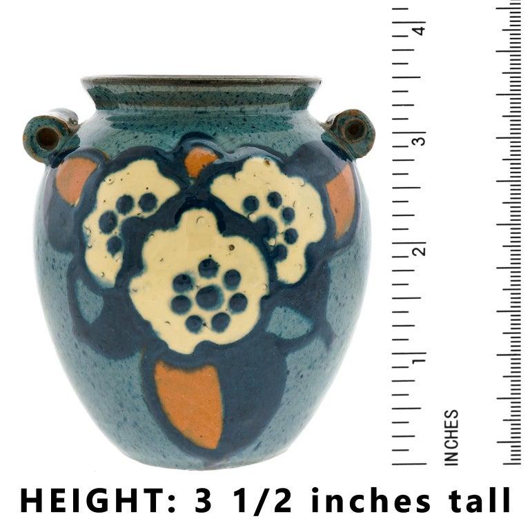 Ceramic Art Deco Pottery Vase by Paul Jacquet For Sale