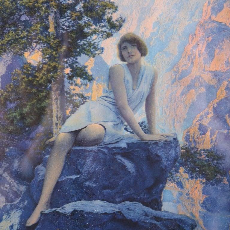 Art Deco into Art Nouveau print of