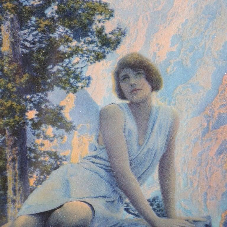 American Art Deco Print of