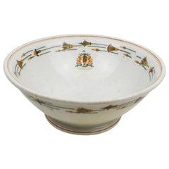 Art Deco Restaurantware Bowl from the Hotel Baltimore Kansas City MO, 1800s
