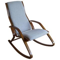 Art Deco Rocking Chair J. Halabala from 1950