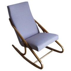 Art Deco Rocking Chair J. Halabala from 1960