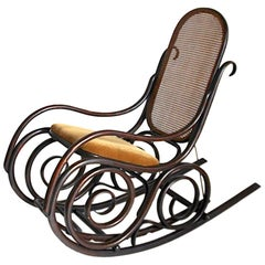 Art Deco Rocking Chairs