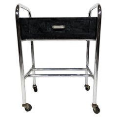 Art Deco Rolling Cart