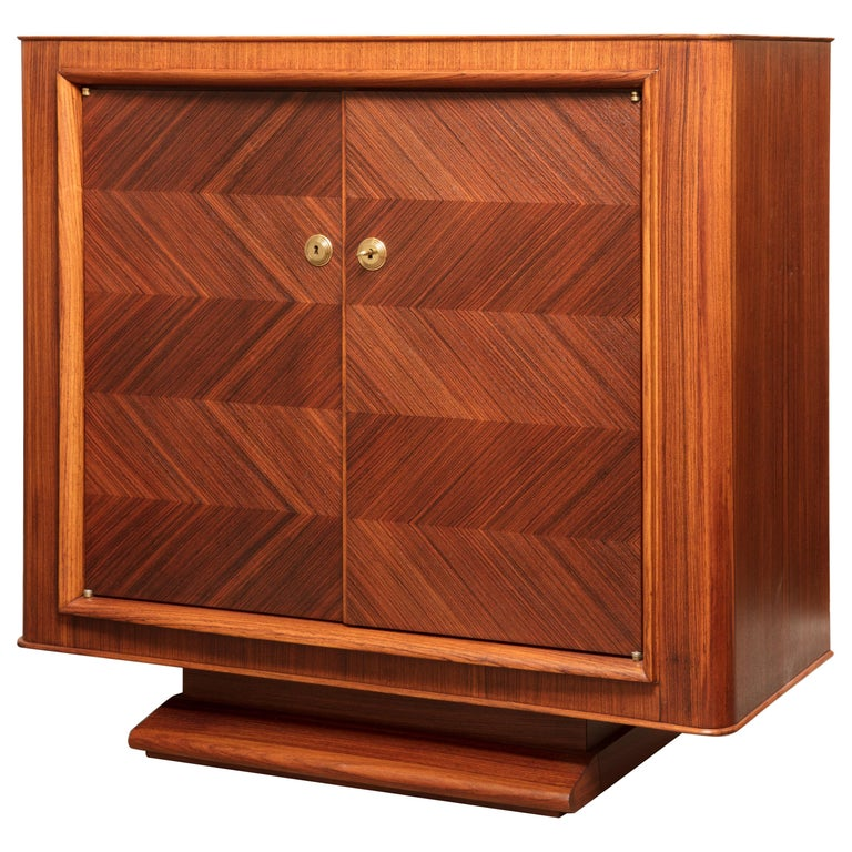 Art Deco Rosewood Buffet by Maxime Old For Sale