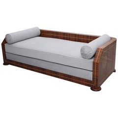 Art Deco Rosewood Daybed/Sofa