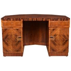 Art Deco Rosewood Desk