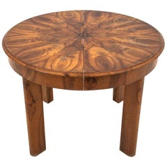 Art Deco Round Dining Table, After renovation