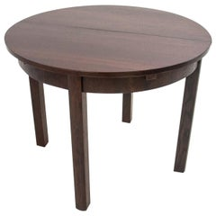Art Deco Round Dining Table