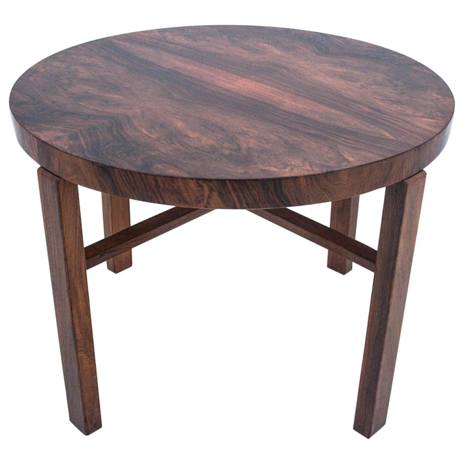 Art Deco Round Dining Table At 1stdibs