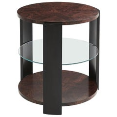 Art Deco Round Lamp Table