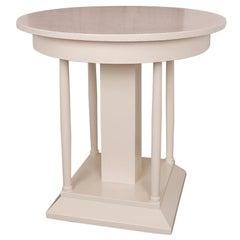 Art Deco Runder Tisch, circa 1930
