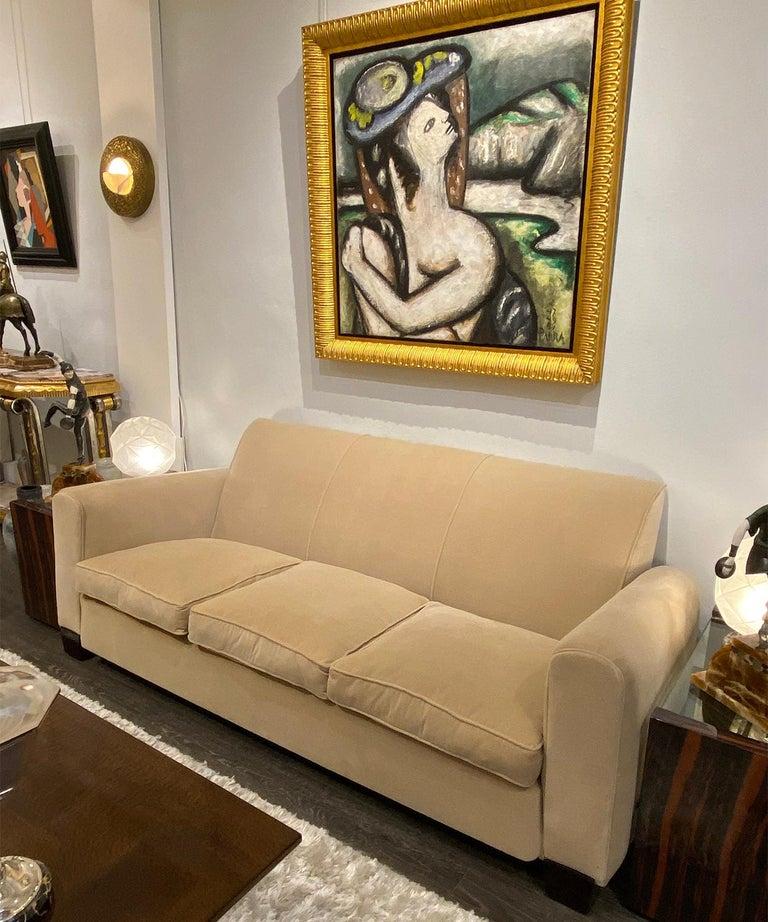 French Art Deco Salon Set by Jules Leleu For Sale