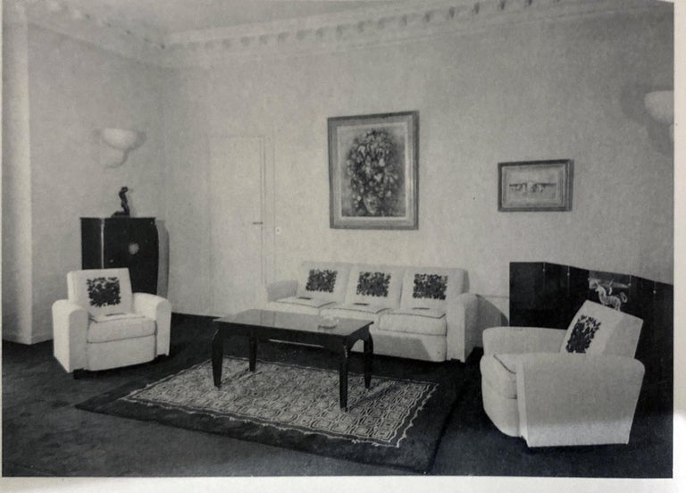 Art Deco Salon Set by Jules Leleu In Good Condition For Sale In Coral Gables, FL