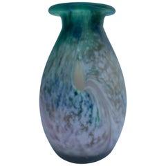 Art Deco Scailmont Paste Glass by Henri Heemskerk, Signed Celta