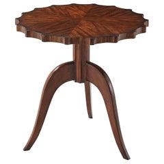 Art Deco Scalloped Table