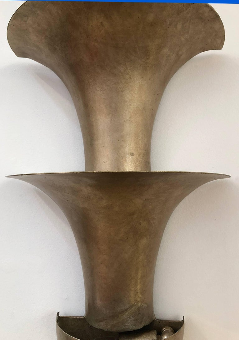 American Art Deco Sconce, 1930s For Sale