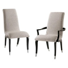 Art Deco Scrolling Dining Chairs