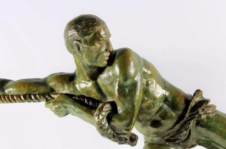 French Art Deco Sculpture by Pierre Le Faguays