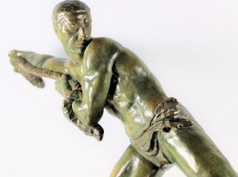 Early 20th Century Art Deco Sculpture by Pierre Le Faguays