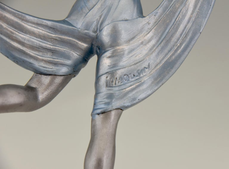 Art Deco Sculpture of a Dancer Limousin, France, 1930 For Sale 3
