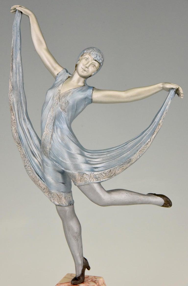 Art Deco Sculpture of a Dancer Limousin, France, 1930 For Sale 1